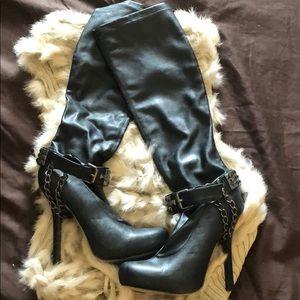 Black bebe Boots